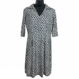 Jude Connally Michelle Dress Printed 3/4 Sleeve